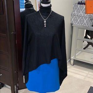 New W/tags! Bright blue wool blend mini Ann Taylor